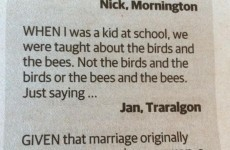 Is this the single stupidest letter ever written to a newspaper?