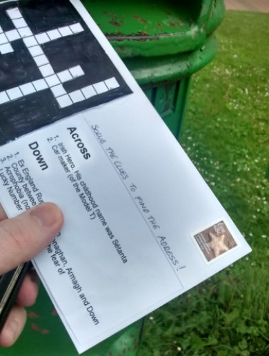 An Post says man sending 'puzzle' mail is 'a postal champion'