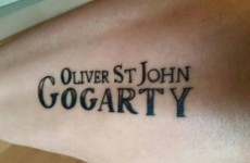 Someone got the name of this Temple Bar pub tattooed on their arm