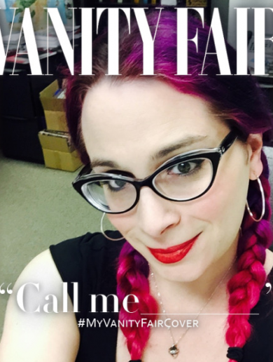 Photos: Trans people are sharing Vanity Fair cover photos of themselves