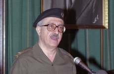 Saddam Hussein's right-hand man dies before execution