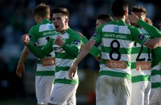 Shamrock Rovers run riot against Sligo at Tallaght