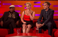 Everyone was super distracted by Amy Schumer's legs on last night's Graham Norton Show