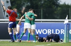 Ireland hang on for victory after delicious Dardis try