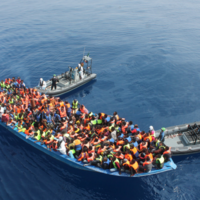 Further 310 migrants rescued by Irish Naval ship this morning