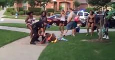 WATCH: Texas cop throws black girl in a bikini to the ground, threatens teens with gun
