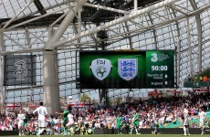 ITV's Twitter account was NOT impressed with the Ireland-England match