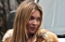 Kate Moss escorted from flight for 'being disruptive'