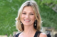 Kate Moss had to be escorted off a flight for being 'disruptive'