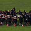 New Zealand's U20s performed an emotional haka in honour of Jerry Collins
