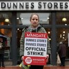 The Dunnes Stores strikes aren't making a dent in its sales