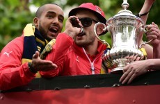 Wilshere stunned by FA charge over Tottenham chants - 'It was just a bit of fun'