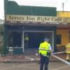 'Absolute mayhem': Eighteen injured as car ploughs into café