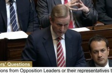 Everyone laughed at Enda Kenny in the Dáil today