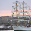 One of the world's largest Tall Ships will sail into Dublin next week