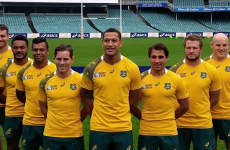 Australia have unveiled their new Rugby World Cup jersey and fans aren't best pleased