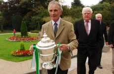 Former Ireland international who won a record number of FAI Cups has passed away