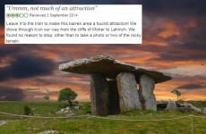 13 depressing reviews of Ireland's most famous landmarks