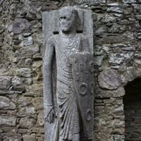 The best medieval statue in Ireland is 8ft tall and in a ruined church in Kilkenny...