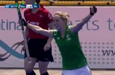 Nicola Daly scored a worldy as Ireland's hockey stars stunned South Africa today