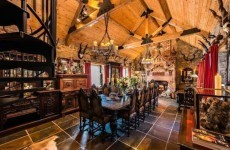 What else could I get for... the €1.1 million pricetag on this 'gothic fairy-tale fantasy' in Co Down