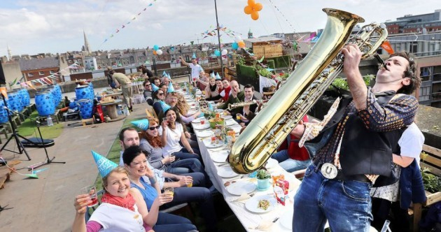 Thousands and thousands of us will be having a 'Street Feast' today. Are you going?
