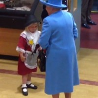 This 6-year-old went to meet the Queen... and accidentally got whacked in the face