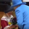 This six-year-old girl went to meet the Queen... but was hit in the face