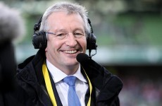 RTÉ Sport reporter Tony O'Donoghue receives treatment after car accident