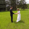This drone footage of a wedding is beautiful, but wait for it...