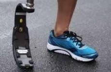 The Irish paralympian who had his blade stolen is having a new one fitted