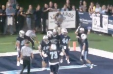 WATCH: These high school American football players were penalised for honoring their dead friend
