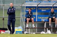 McGeady a major doubt for Ireland's make-or-break Euro 2016 qualifier