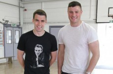 'Chicken curry, fried rice and a can of coke' - Coleman and Henshaw discuss post-match meals