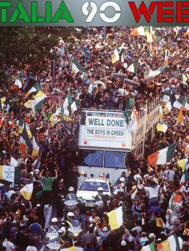 'Italia 90 success resonated in a rapidly changing Ireland'