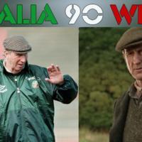 Who would play Dunphy, Charlton and Maradona in an Italia 90 movie?