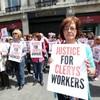 """""""Devastated"""" Clerys workers picket landmark store following shock closure"""