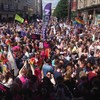 Pictures: Thousands pack streets to call for gay marriage in 'last bastion of discrimination'