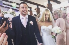 Tommy Bowe got married (and posed for photos with people's mams)