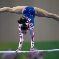 Outcry after top gymnast criticised over her genitalia in 'revealing' outfit