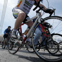 Cyclists and truck drivers are being told to look out for each other to stop road deaths