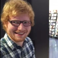 Ed Sheeran was out shopping, heard a girl on stage singing his song and joined in