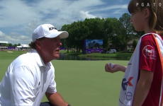 More evidence to prove that Phil Mickelson is actually the soundest man in golf