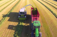 Watch: This beautiful drone video is probably the best you've ever seen about cutting silage