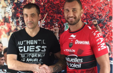 Wallabies boss Cheika thinks Quade Cooper may turn his back on Toulon