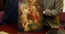 These paintings were left to you, so how is a gift to the people of Ireland being sold?