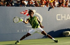 Watch: Gael Monfils be awesome at the US Open