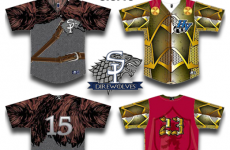 Baseball team promise no spoilers as they unveil special Game of Thrones uniforms