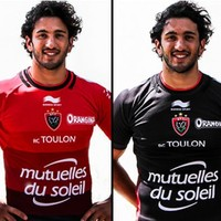 Here are the jerseys Paul O'Connell will wear next season (including Toulon's newly altered crest)
