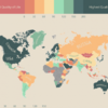 The quality of life all over the world in one neat map